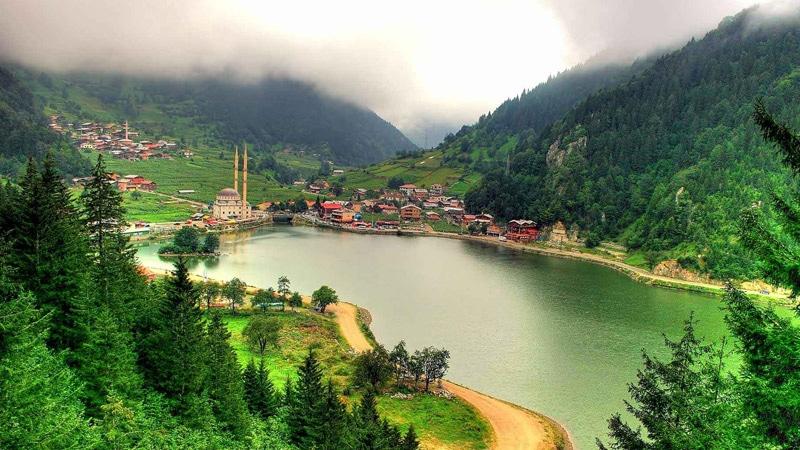 جولات الشمال التركي السياحية