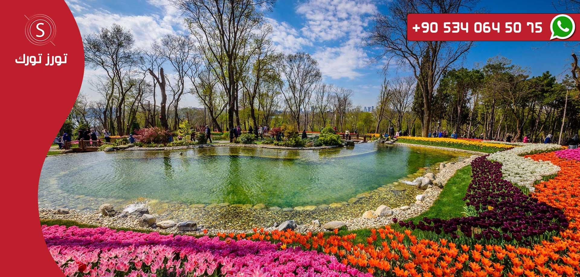 جولة حديقة أميرجان من شركة تورز تورك