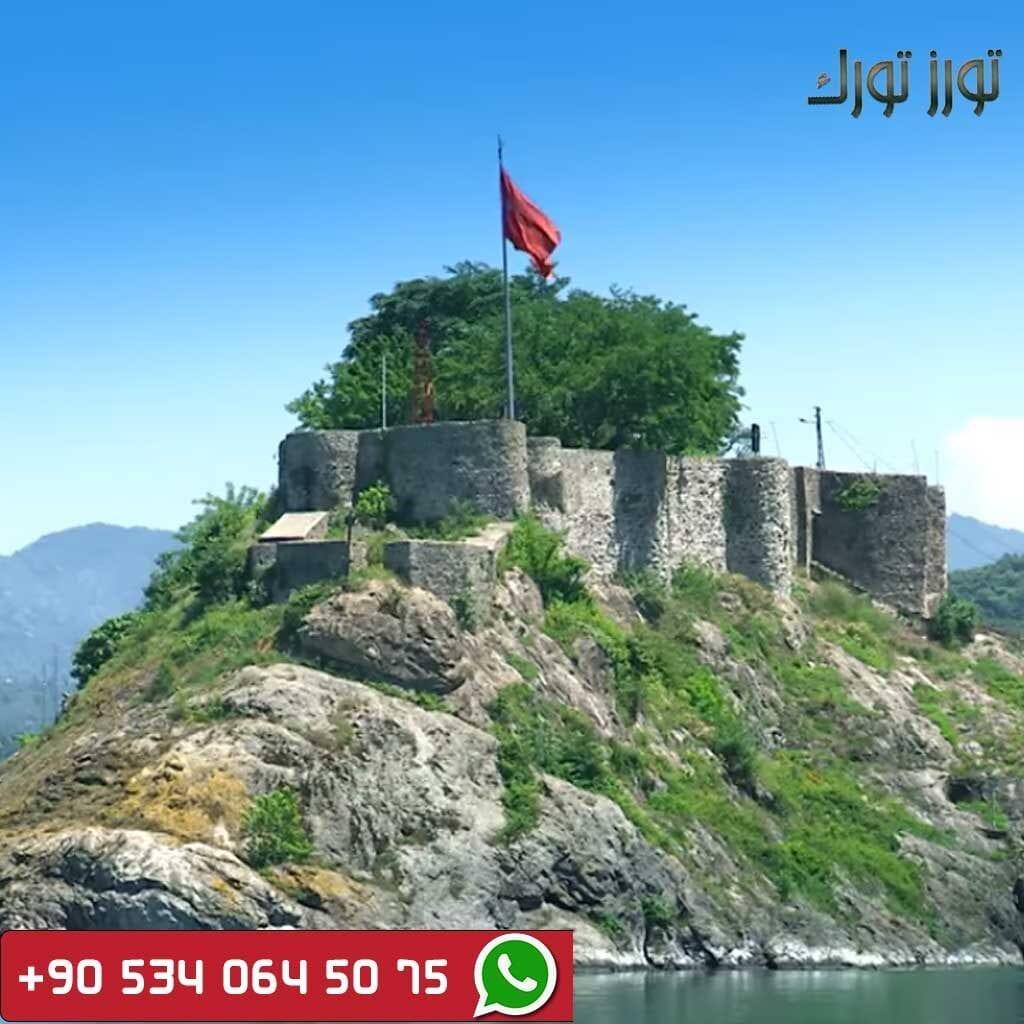 رحلات شمال تركيا قلعة جيراسون
