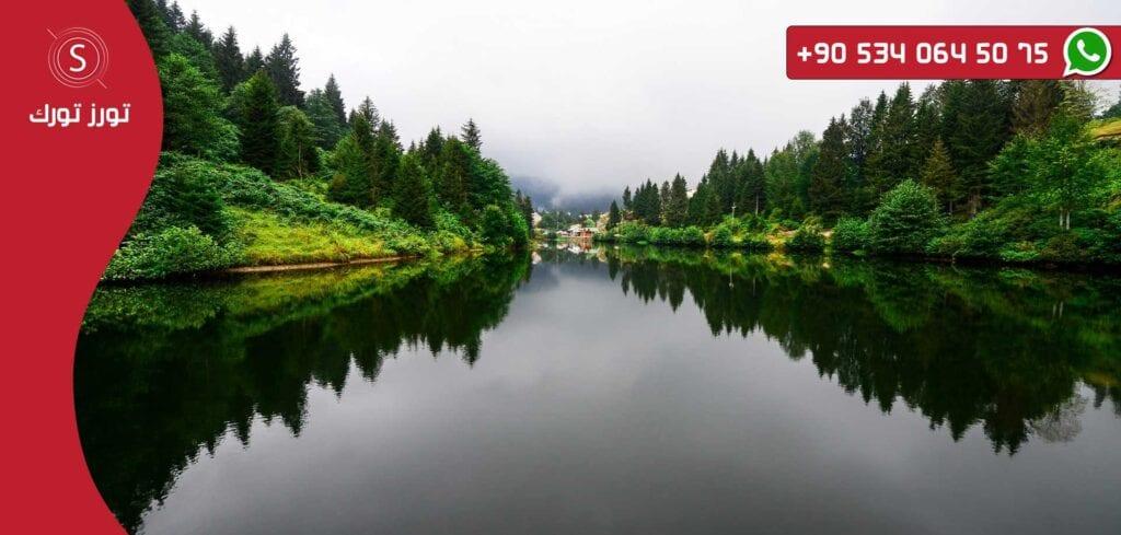 جولة حيدر نبي بحيرة السمك