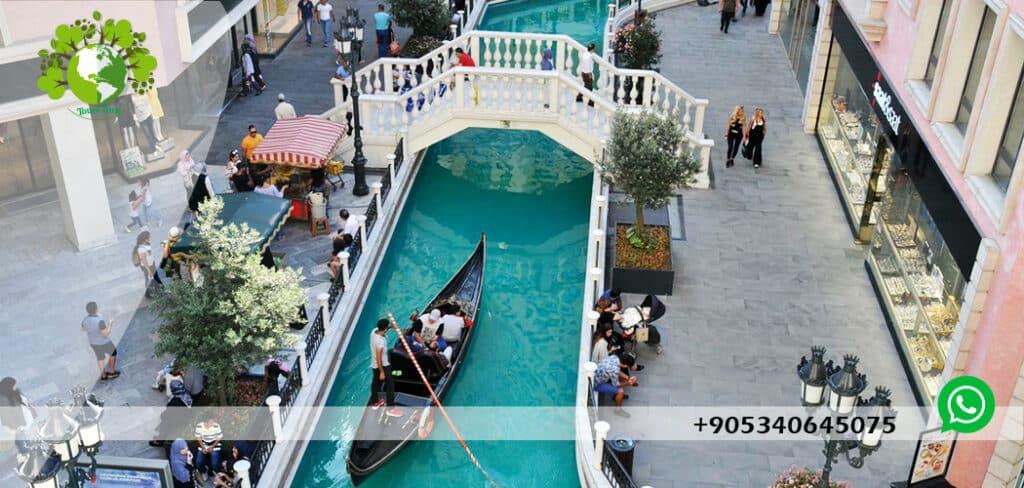 التسوق في مدينة اسطنبول