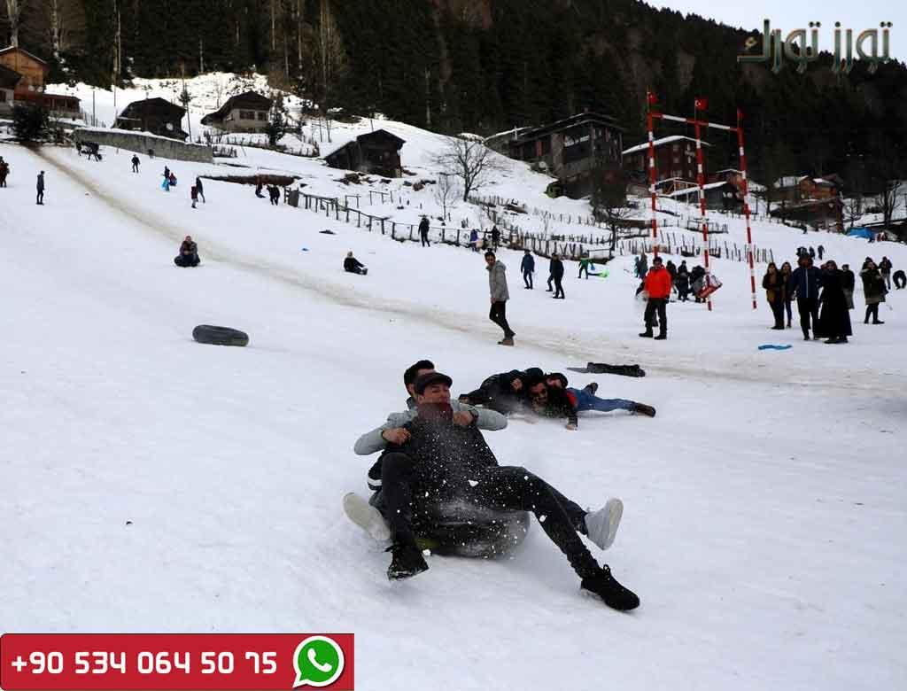ايدر في الشتاء اسبوع في الشمال التركي