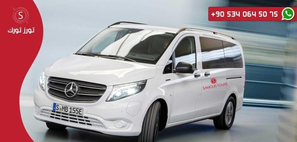 تكلفة سيارة بسائق من سبانجا فيتو