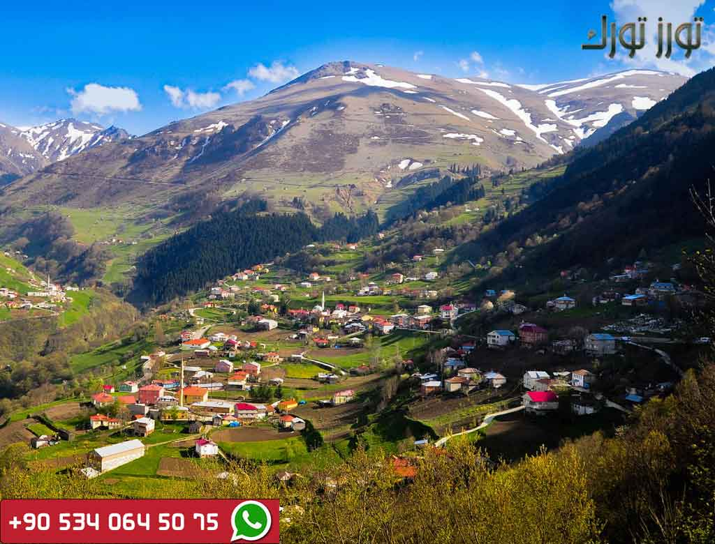 قرية همسي كوي اسبوع في الشمال التركي